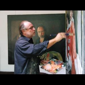 Frans de Kok bij Tres Art Kunstgalerie