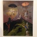 'Rutteli's flying circus' door  Roeland van der Kley - Tres Art Kunstgalerie