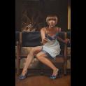 'Saved you a seat' door  Helene Terlien - Tres Art Kunstgalerie