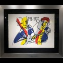 'The beat goes on I'' door  Herman Brood - Tres Art Kunstgalerie