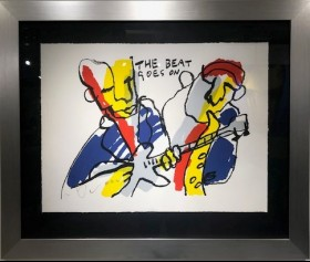 'The beat goes on I'' - Herman Brood