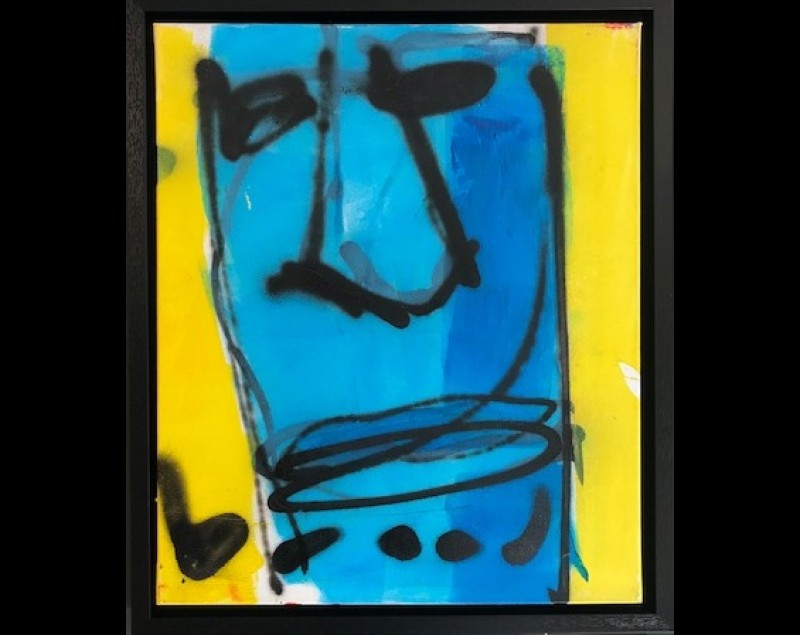 'Blue Face' - Herman Brood