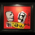 'Cha' door  Herman Brood - Tres Art Kunstgalerie