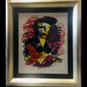 'Guitarman' door  Herman Brood - Tres Art Kunstgalerie