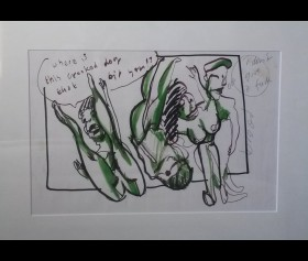 'Where is this crooked dog that bit you?' - incl. HBM certificaat - Herman Brood