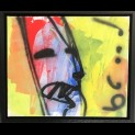 'Rainbow face' - Herman Brood