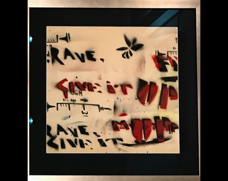 'Rave, give it up' - Collector's item - Herman Brood bij Tres Art Kunstgalerie
