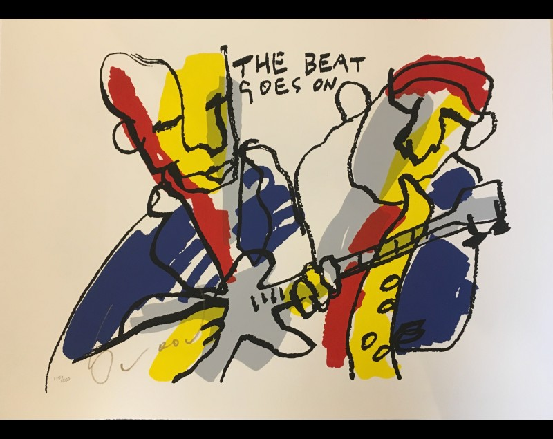 ''The beat goes on' - Herman Brood