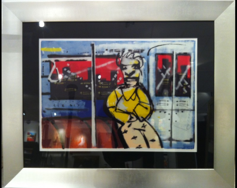 'Metro 2' - Herman Brood bij Tres Art Kunstgalerie