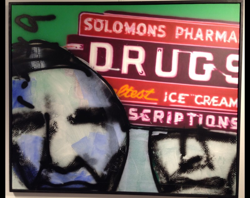 'Drugs Pharma' - Herman Brood bij Tres Art Kunstgalerie