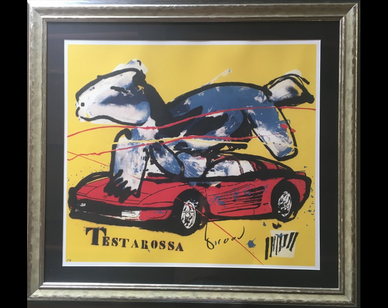 'Testarossa' - Herman Brood