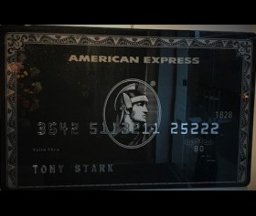 'AMX Creditcard - Tony Stark' - James Chiew