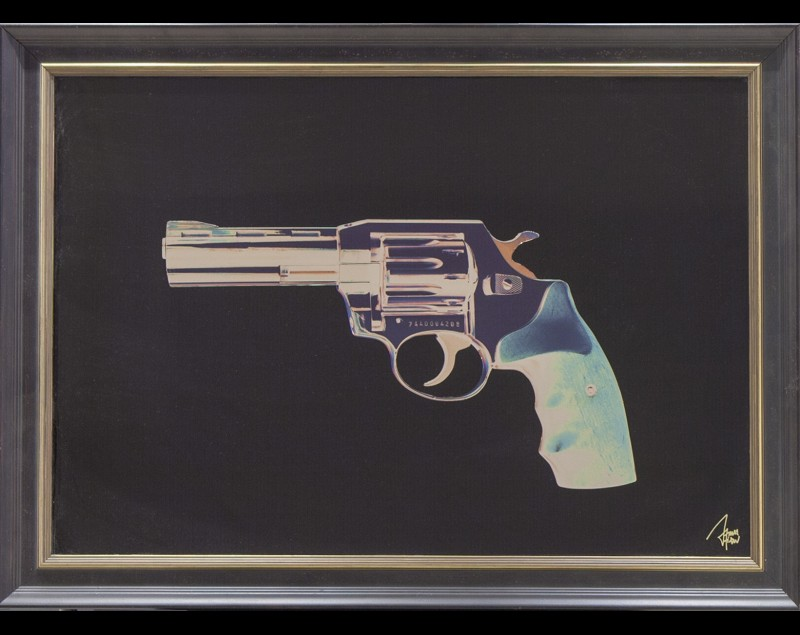 'Golden gun' - James Chiew