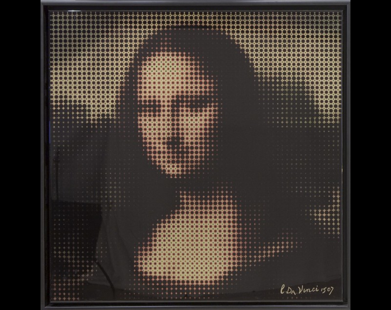Pixel Mona Lisa - James Chiew