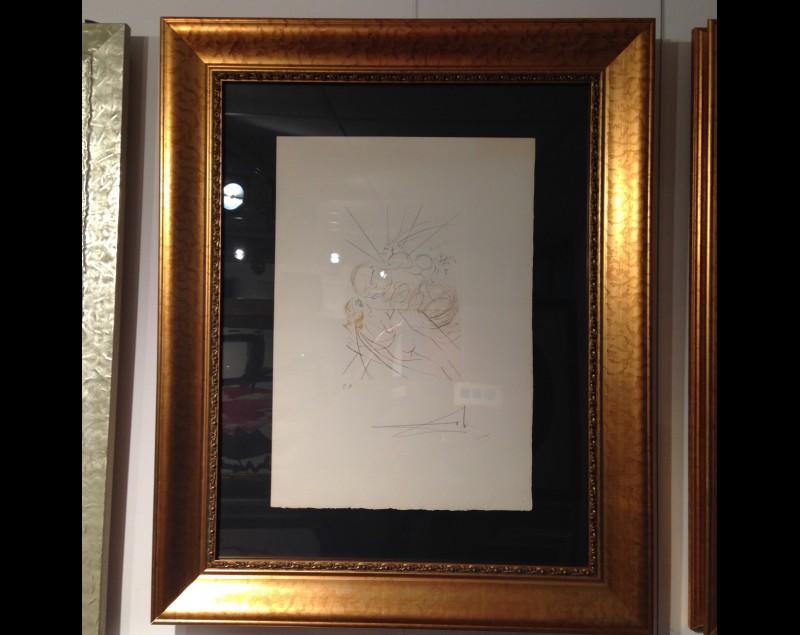 Salvador Dali Bij Tres Art Kunstgalerie