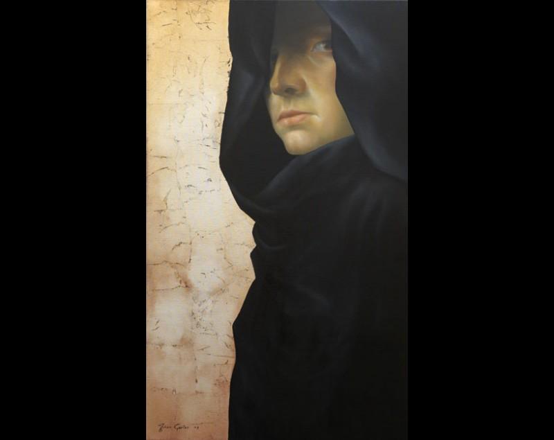 ''Black monk'' - Johan Gorter