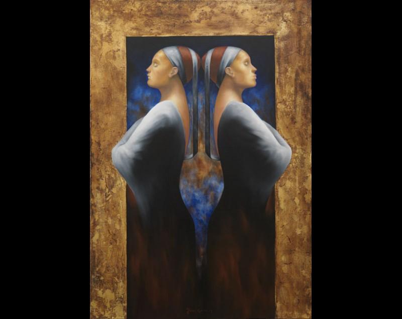 ''Purify in blue'' - Johan Gorter
