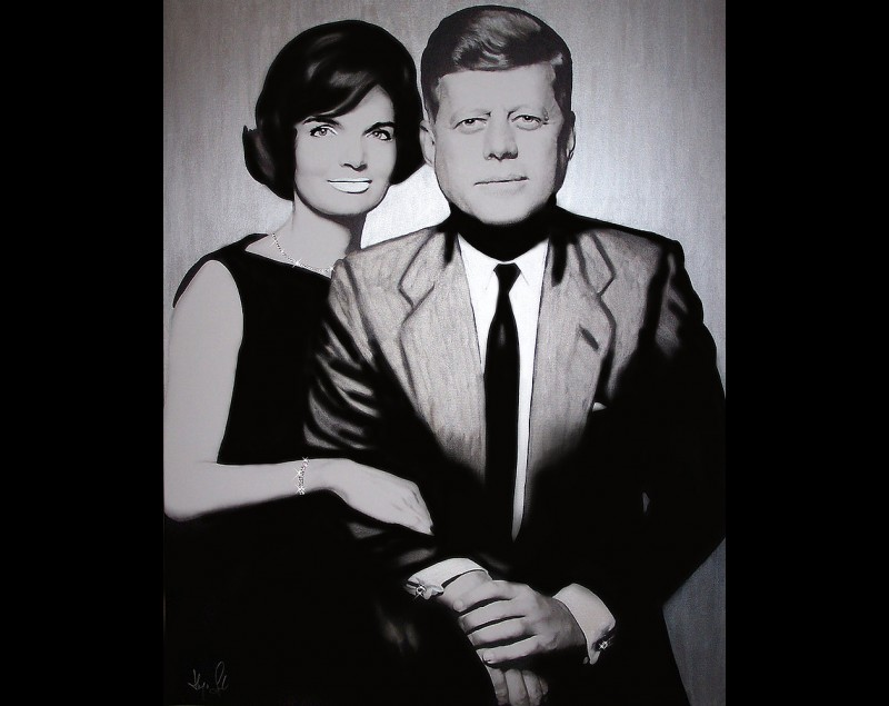 'Kennedy's - Presidential Silver Edition' - Hayo Sol bij Tres Art Kunstgalerie