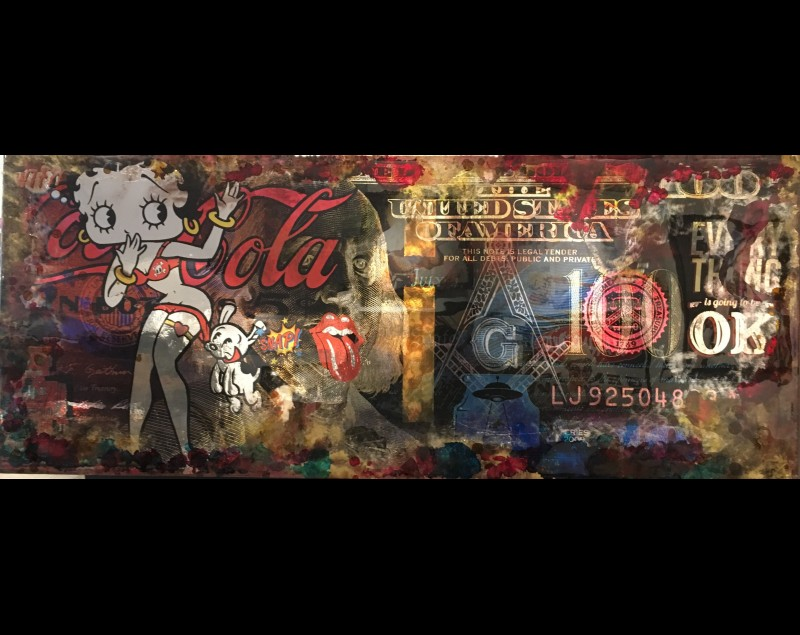 'The Betty Boop dollar' - 2016 - James Chiew