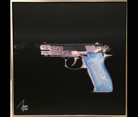 'Gun Blue' - James Chiew