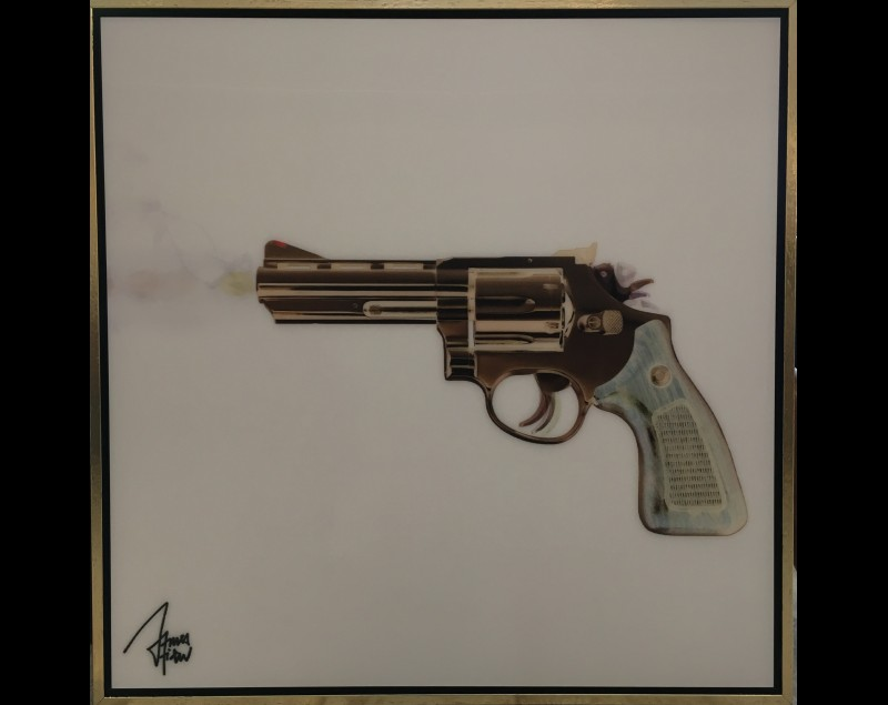 'Moving gun' - James Chiew