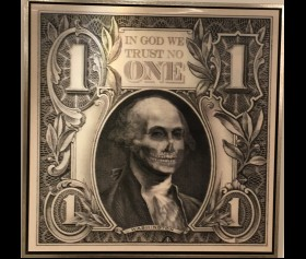 'G. Washington' - In god we trust no one - James Chiew