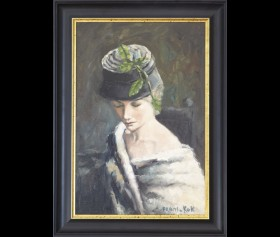 ''Vrouw met hoed'' - Frans de Kok